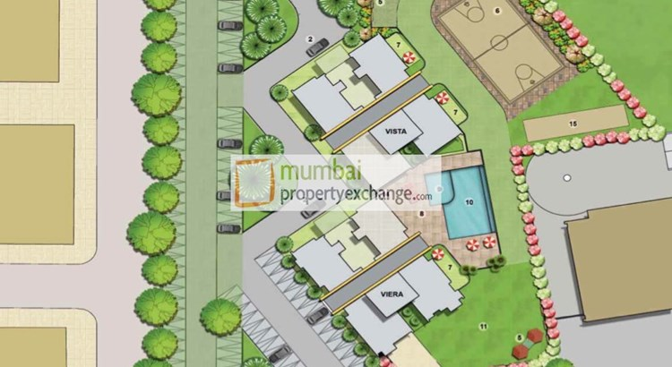 Lodha Grandezza  Vista Layout Plan