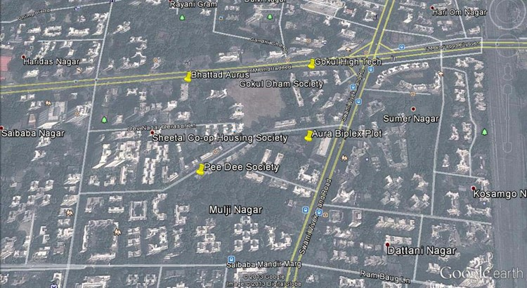 Bhattad Aurus Google Earth