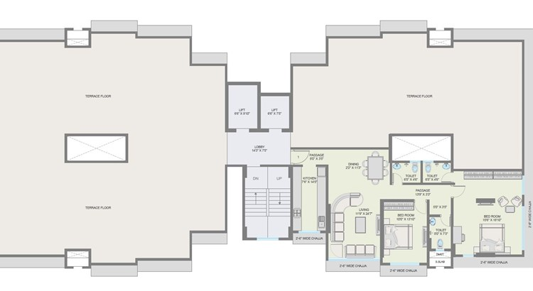 Roopkala Floor Plan