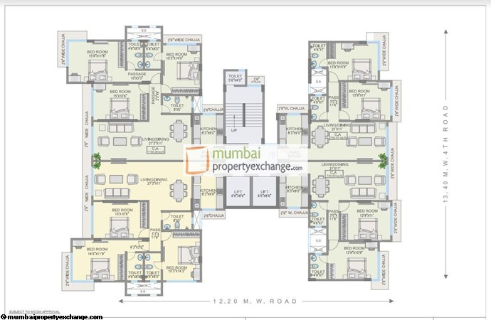 Rishikesh 9th Floor Plan