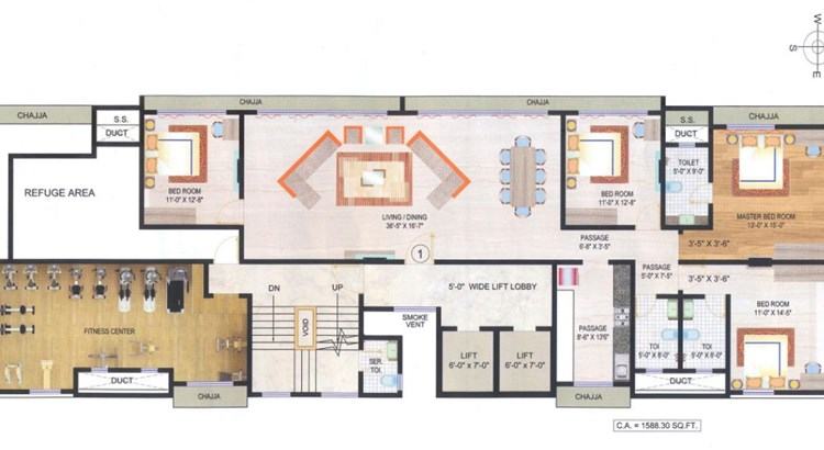 Mayfair Boulevard 7th Floor Plan