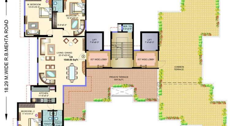 Mayfair Mystic Floor Plan