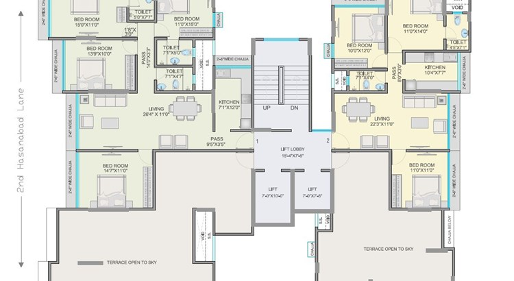 Nav Natraj Floor Plan