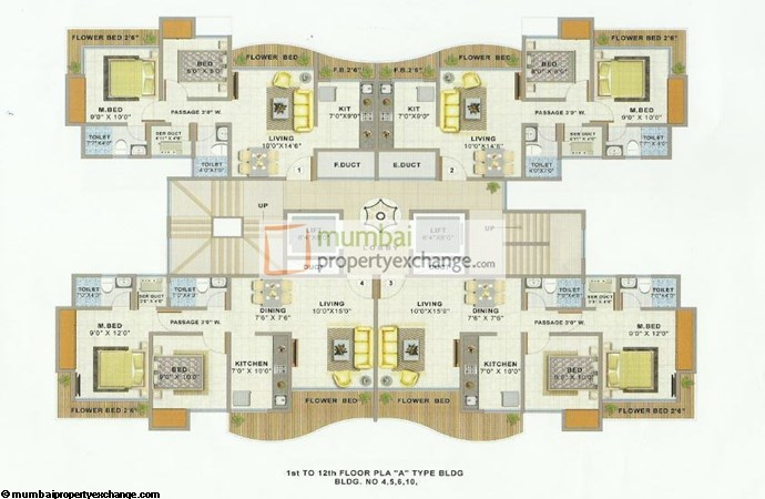 Atlanta Edenworld Floor Plan