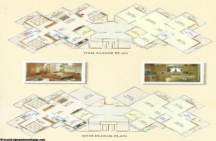 Someshwar Residency Floor Plan