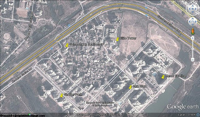 Someshwar Residency Google Earth