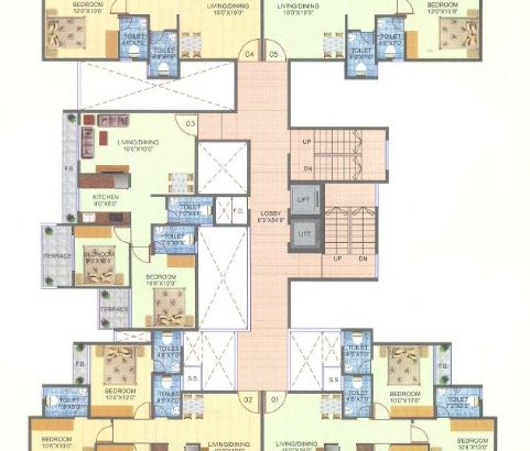 Sai Pushpam Floor Plan