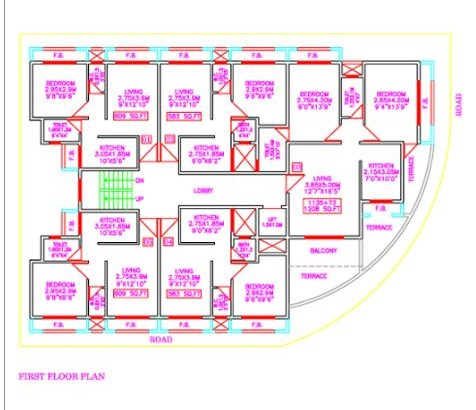 Tejas Komal Floor Plan