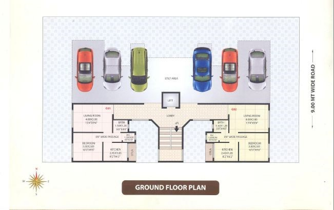 Mauli Krupa Ground Floor Plan