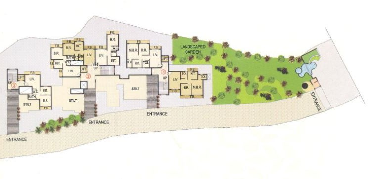 Orchid Residency Layout II