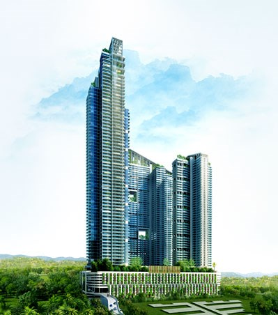 2 BHK apartment for Rent in Omkar Altamonte, Malad East