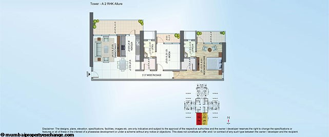 Alta Monte Tower A Floor Plan 2