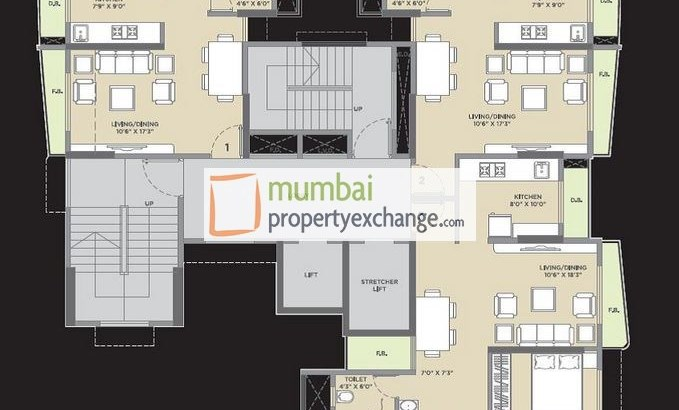 Vijay Residency Floor Plan