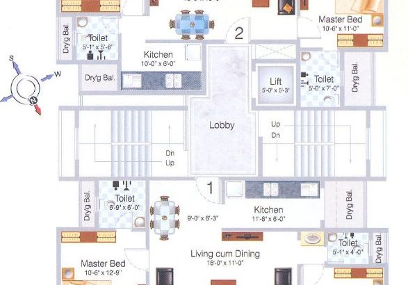 Mohan Pride Floor Plan