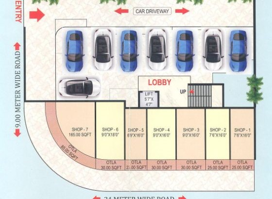Vista Darshan Floor Plan