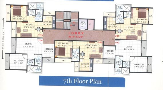 Sai Darshan Floor Plan