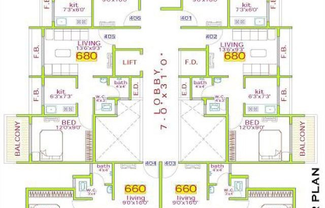 Green Valley Floor Plan