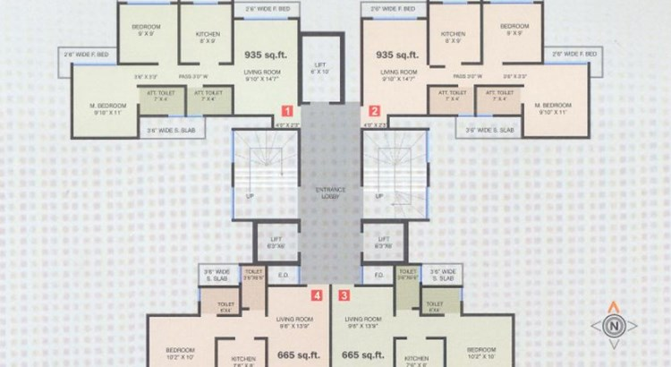 Trinity Heights Floor Plan