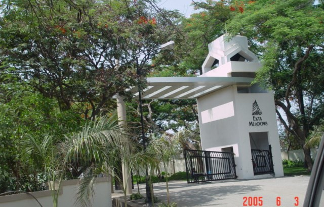 Ekta Meadows Entrance