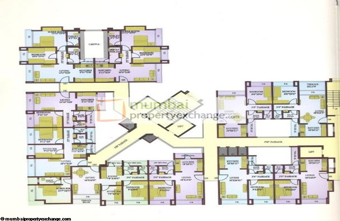 Omkar Heights Floor Plan
