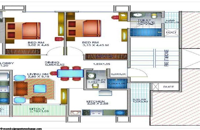 Swastik House Floor Plan