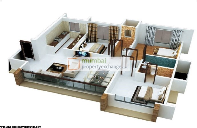 Sanghvi Solitaire Floor Plan