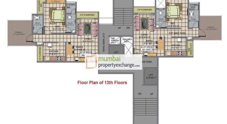 Shree Vrushti Floor Plan
