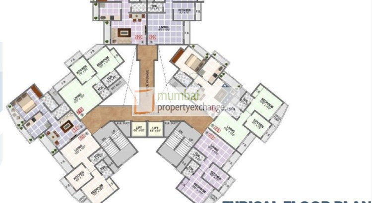 Pentagon Heights Floor Plan
