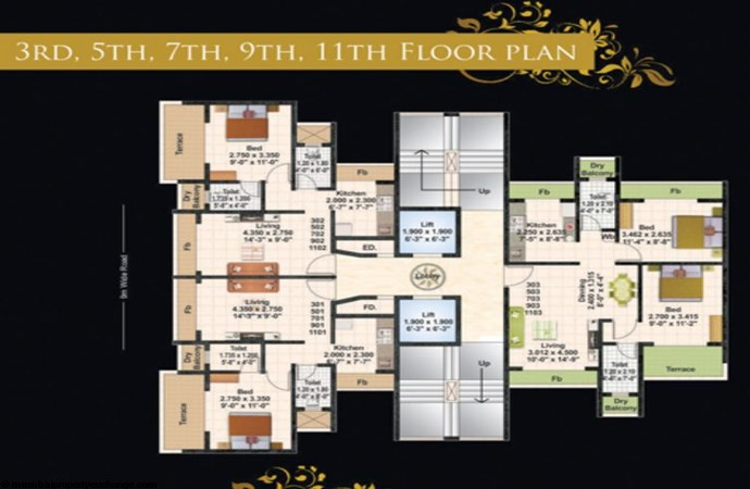 Juhi Lawns 11th Flr Plan