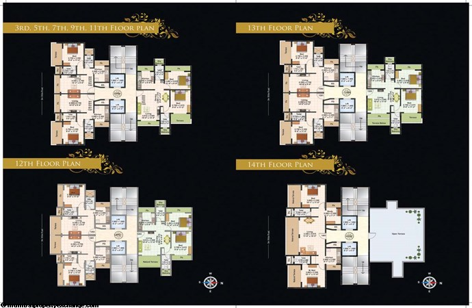 Juhi Lawns Master Layout 2