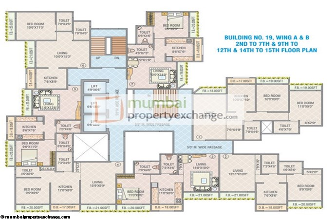 Anand Kirti Tower Floor Plan