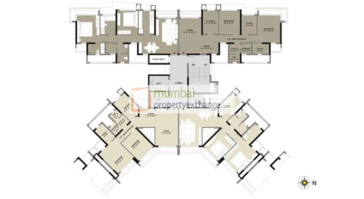 Kalpataru Radiance Floor Plan
