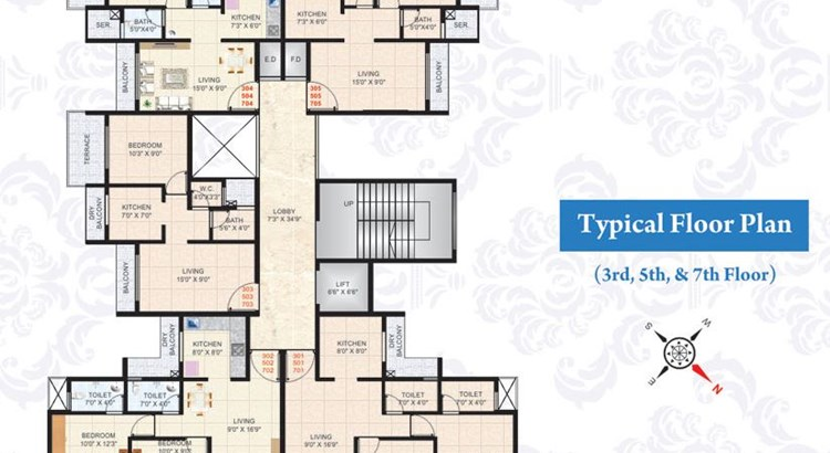 Suyash Apartment Floor Plan