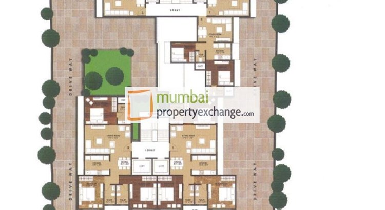 Aristo Kusum Bharti Floor Plan