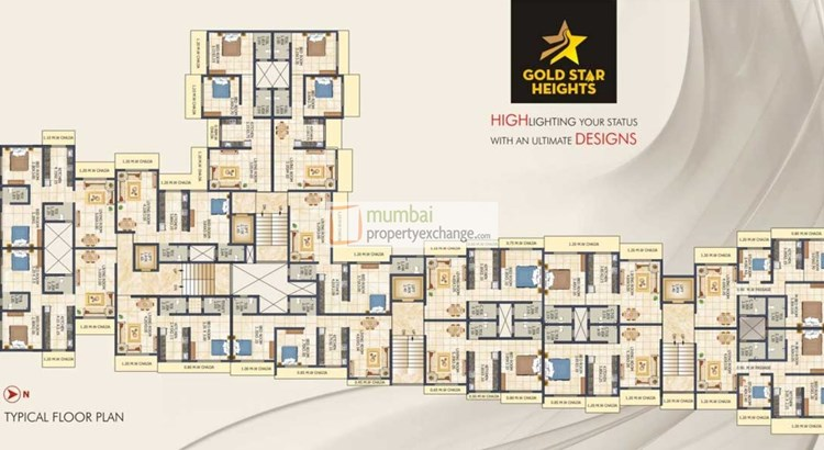 Gold Star Heights Floor Plan