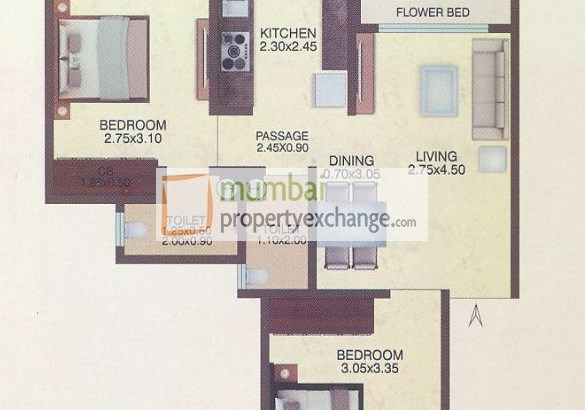 Sumit Greendale NX Floor Plan