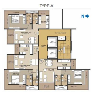 Vivaan Floor Plan
