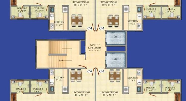 Akar Pinnacle Floor Plan
