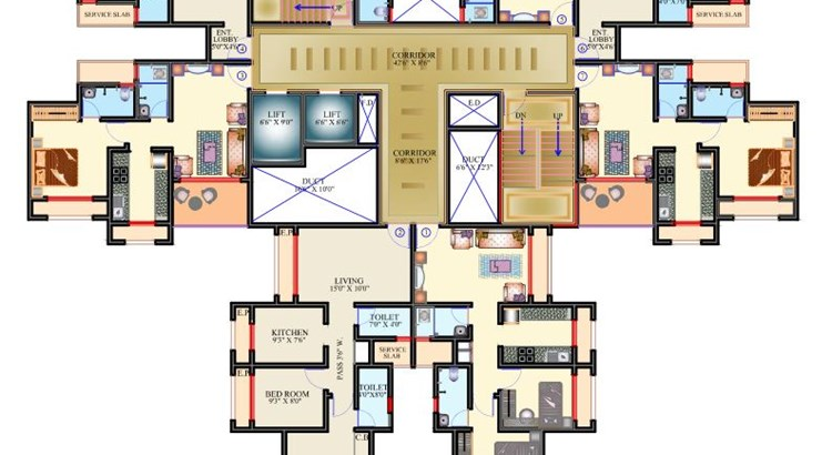 Riverside Classic Floor Plan