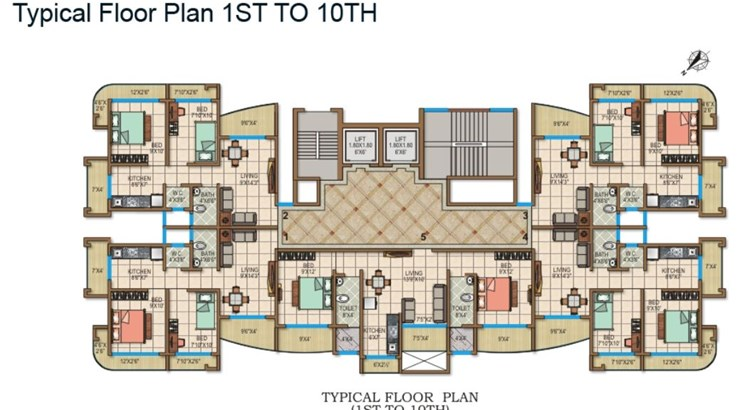 Sai Krupa Floor Plan