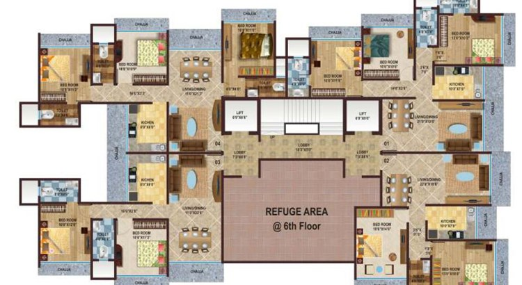 Kamla Splendour Floor Plan