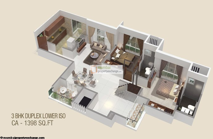Harmony Sky Suites Floor Plan