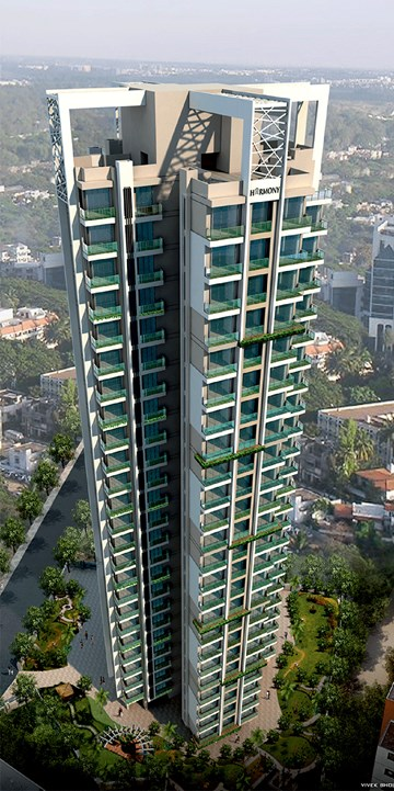 Harmony Signature Towers, Thane West