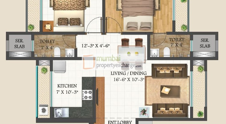 Harmony Signature Towers Floor Plan