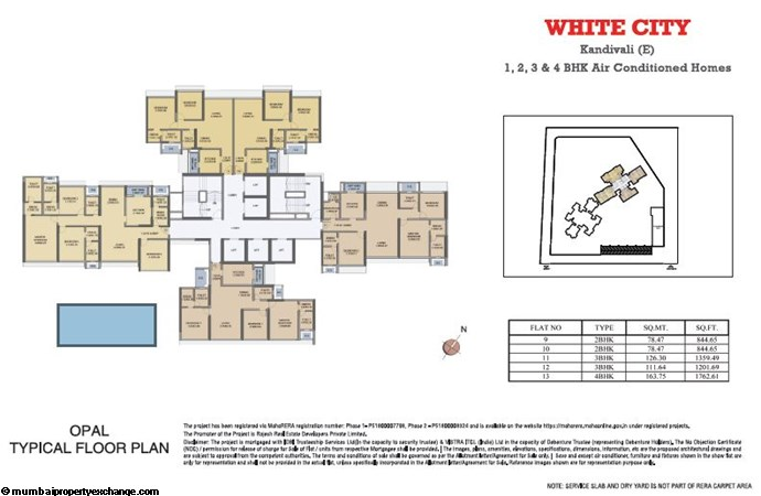 White City White City Opal Typical Floor Plan