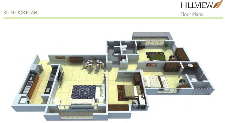 Hill View Floor Plan