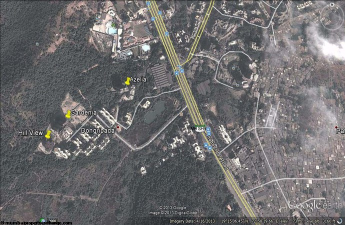Prestige Residency Gardenia Google Earth
