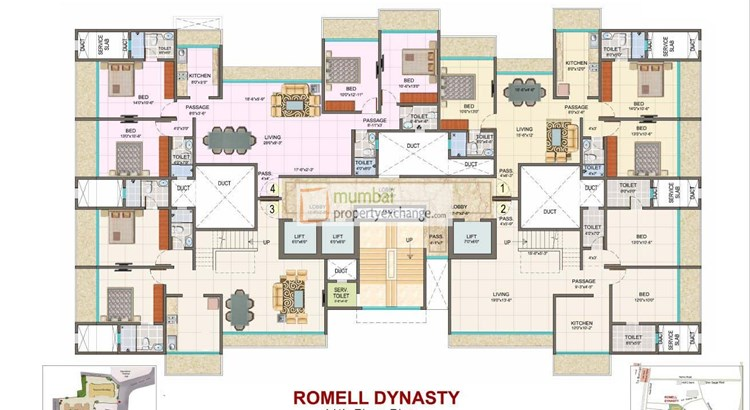 Romell Dynasty Floor Plan