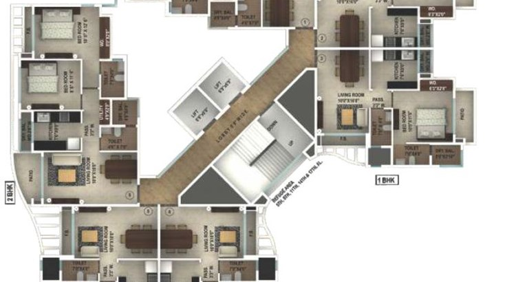 ERS Yogi Dham Phase 3 Floor Plan