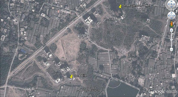 Shree Ganesh Tower Google Earth